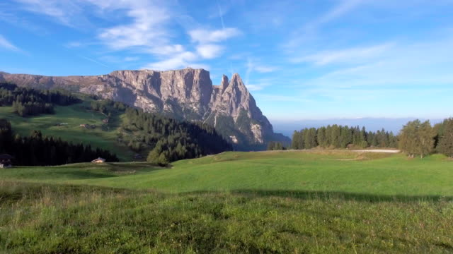View of alpe de suisse Italy video