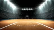 View of basketball stadium video