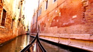 View of canal of Venice video