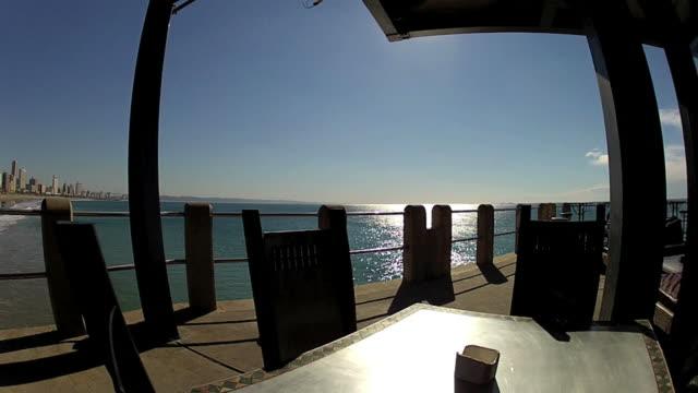 View of Durban from Ushaka  Pier video