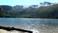 View of Escondido Lake (Tierra del Fuego Lake) video