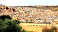 View of fez in morocco video