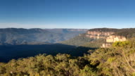 View of Jamison Valley from Wentworth Falls Lookout, Blue Mountains video