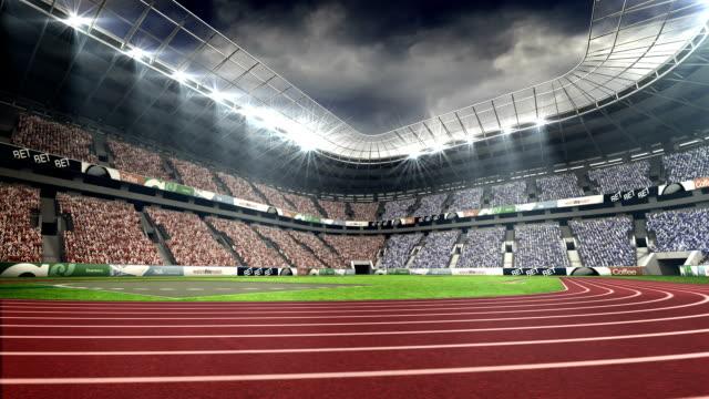 View of olympic stadium video