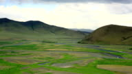View of Orkhon Valley video