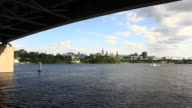View of Parliament from Ottawa river video