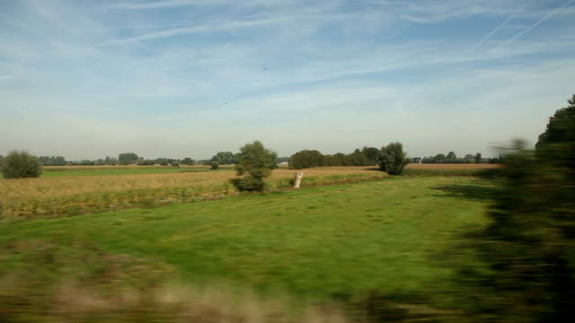 View of passing landscape video