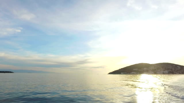 View of rural Princes Island of Burgazada. Istanbul, Turkey. 4K. video