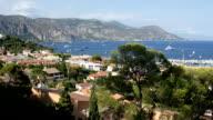 View of Saint-Jean-Cap-Ferrat, French Riviera, France video