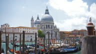 View of Santa Maria della Salute in Venice, Italy video