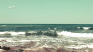 View of seascape video