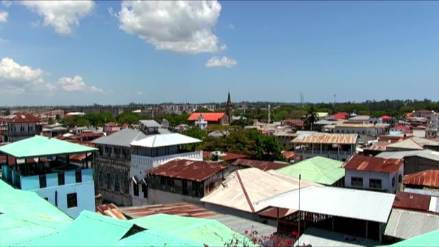 View of Stone Town - Zanzibar / Africa video
