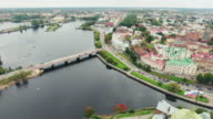 View Of The Historic City Of Vyborg video
