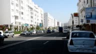 A view of the modern Charaf area in Agadir video