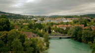 View of the Old City of Berne in Switzerland video
