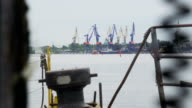 view of the port infrastructure video