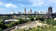View of the skyline of Cleveland video