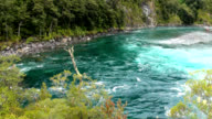 View of Vicente Perez Rosales National Park - Chile video