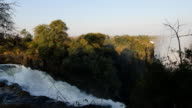 View of Victoria Falls from Zimbabwe side video