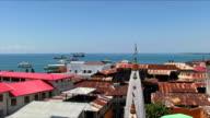View of Zanzibar Town - Africa video