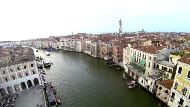 View on Grand Canal in Venice video