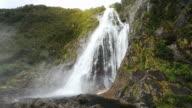 View on Lady Bowen Falls video
