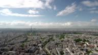 View on Paris. video