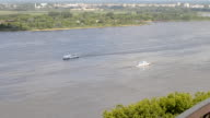 View on the Volga river video