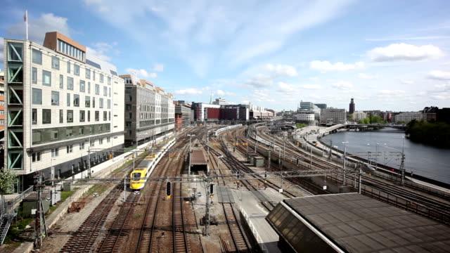 View over Stockholm, Sweden video