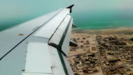 View through the porthole on Persian Gulf video