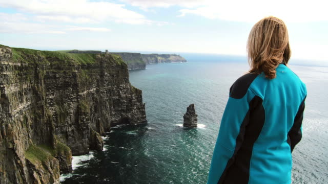HD: Viewing Cliffs Of Moher video