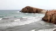 Views from Los Escullos village, Cabo de Gata video