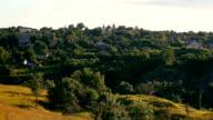 Vilage landscape video