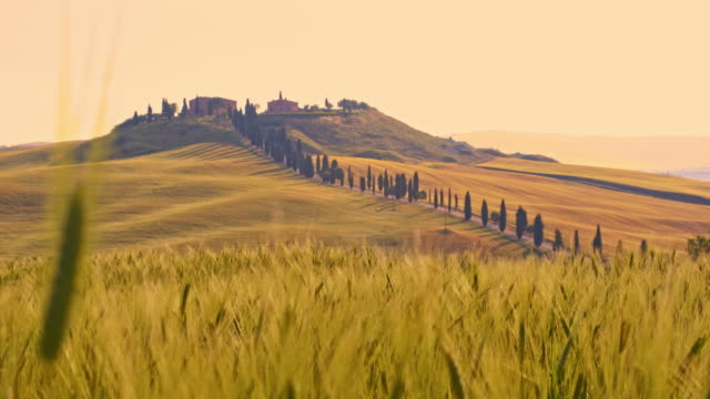 DS Villa in Tuscan countryside video