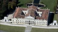 Villa Pasani  - Aerial View - Veneto, Venice, Stra, Italy video