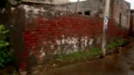 Village Narrow Street, Haryana/India video