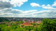 Vilnius, Lithuania, panoramic time-lapse video