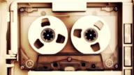 vintage audio tape compact cassette video
