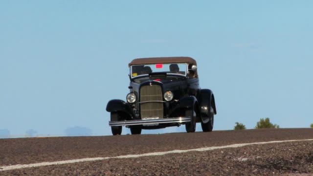 Vintage Black Car HD video
