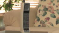 Vintage brick moble cell phone video