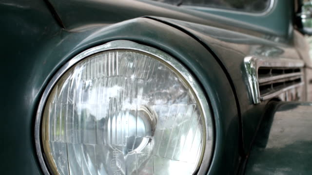 Vintage Car camera motion video