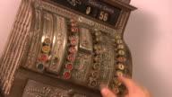 HD Vintage Cash Register video