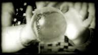 Vintage film fortuneteller video