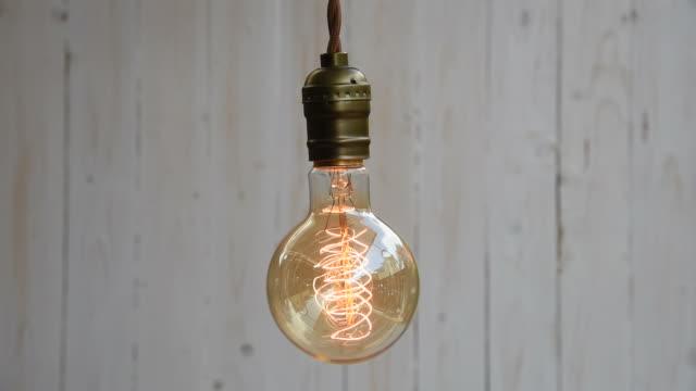 HD: Vintage Lighting Decor video