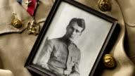 Vintage Military Portrait video