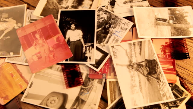 Vintage photo video