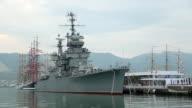vintage ships in port video