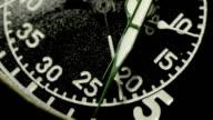 Vintage stopwatch video