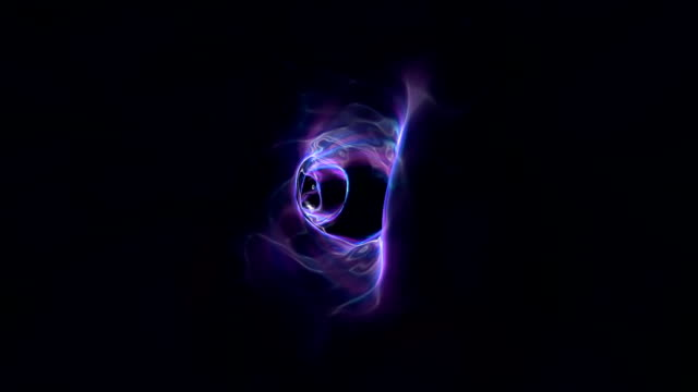 Violet Exotic Wormhole Within Hyperspace video