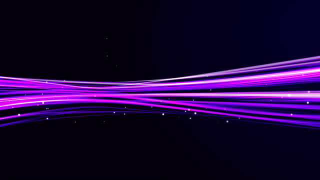 HD Violet Light streaks abstract background animation (Loop) video